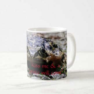Taza De Café Beso de la rana
