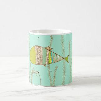 Taza De Café Besos de los pescados