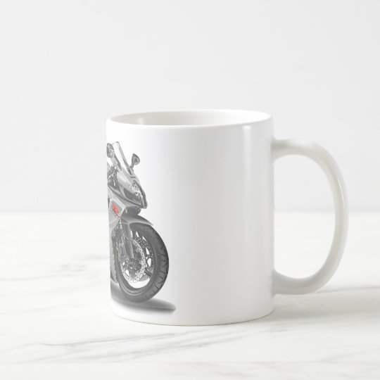 Taza De Café Bici de plata de Suzuki GSX-R600
