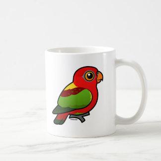 Taza De Café Birdorable Amarillo-apoyó el Lory