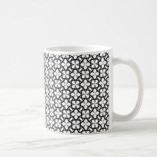 Taza De Café Blanco y negro elegante
