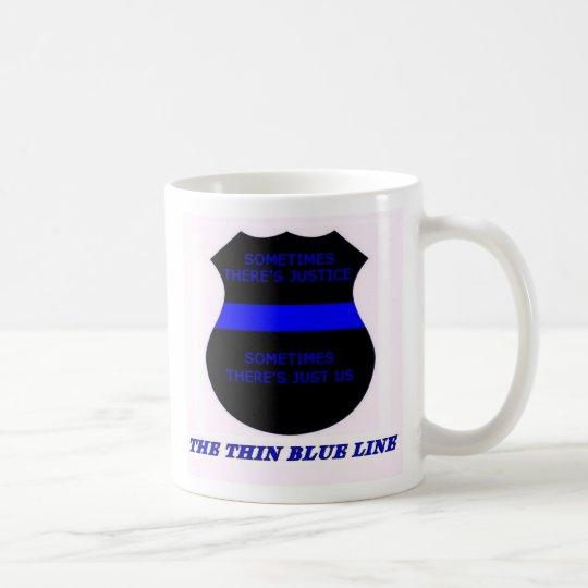Taza De Café Blue Line fino