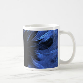 Taza De Café blue monster fractal