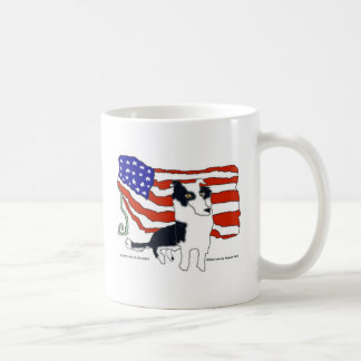 Taza De Café Border collie para el presidente