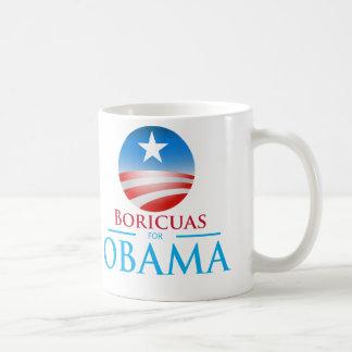 Taza De Café Boricuas para Obama