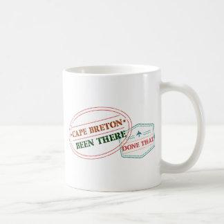 Taza De Café Bretón del cabo allí hecho eso