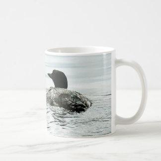 Taza De Café Bribón común en el agua