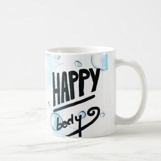 Taza De Café Burbujas felices del cuerpo y del baño