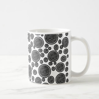 Taza De Café Burbujas oscuras