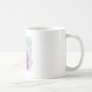 Taza De Café Caballo con alas potro de Alicorn de la acuarela