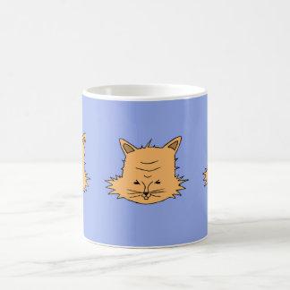 Taza De Café Cabeza de gato agradable