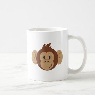 Taza De Café Cabeza del mono