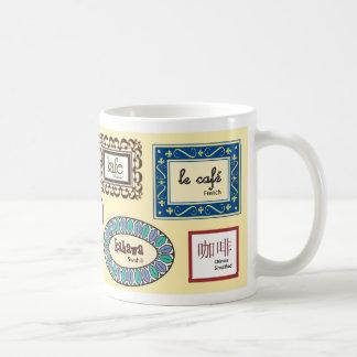 Taza De Café Café en otros idiomas