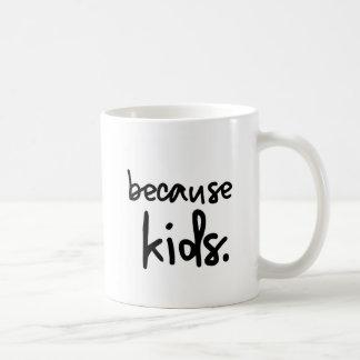 Taza De Café Café porque niños