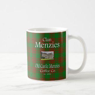 Taza De Café Café viejo Co. de Menzies del castillo de Menzies