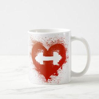 Taza De Café Café y aumentos del amor