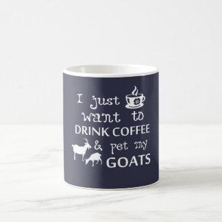 Taza De Café Café y cabras