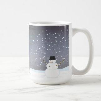 Taza De Café Caída al invierno