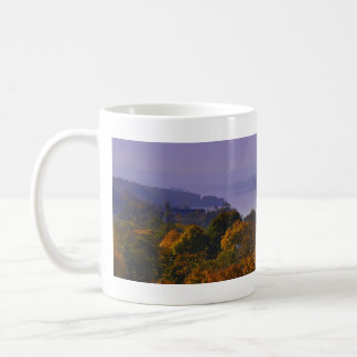 Taza De Café Caída panorámica del río Hudson