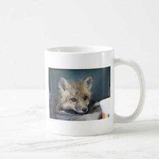 Taza De Café Caja del teléfono del Fox