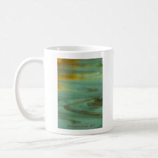 Taza De Café Cala del veneno, diseño abstracto de la fotografía