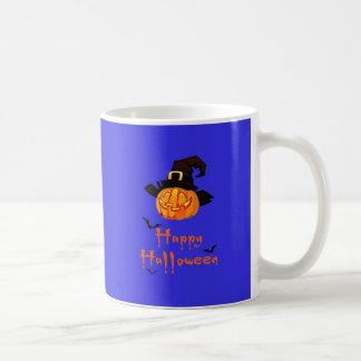 Taza De Café Calabaza asustadiza del feliz Halloween
