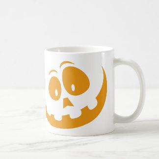 Taza De Café Calabaza de Halloween de la linterna de O de Jack