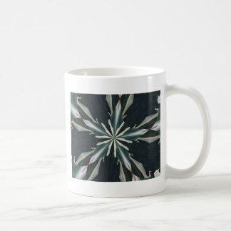 Taza De Café Caleidoscopio de la estrella de la cala