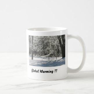Taza De Café ¿Calentamiento del planeta??