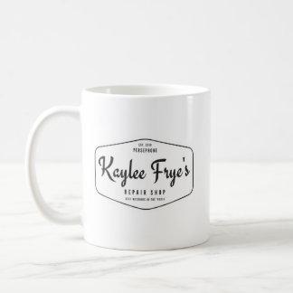 Taza De Café Camiseta del taller de reparaciones de Kaylee Frye