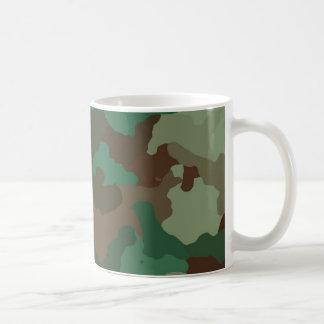 Taza De Café Camuflaje, militar