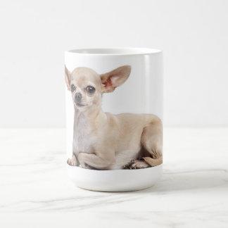 Taza de café canina del perro de perrito de la