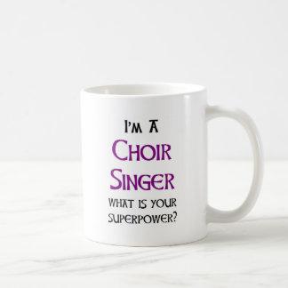 Taza De Café cantante del coro