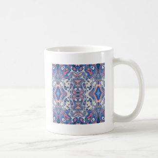 Taza De Café Capas caóticas coloridas