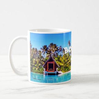Taza De Café Capilla Drinkware del boda de Bora Bora