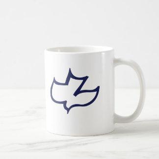 Taza De Café Capilla Hannover del Calvary de Koinonia (azul