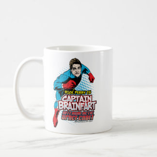 Taza De Café Capitán Brainfart Mug de Rick Perry