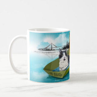 Taza De Café Capitán Oliverio y el oasis de los SS (gato en