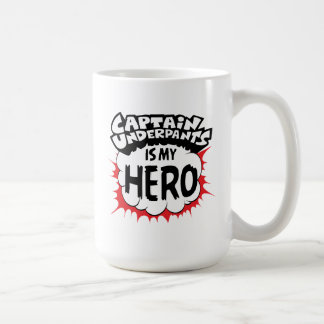 Taza De Café Capitán Underpants el   mi héroe