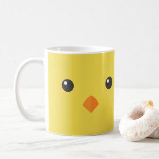 Taza De Café Cara del polluelo