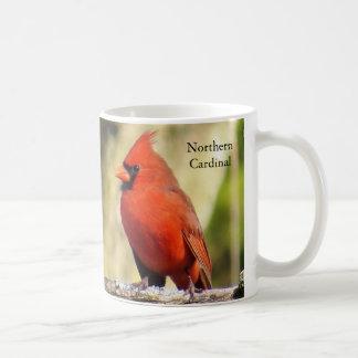 Taza de café cardinal por BirdingCollectibles