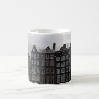 Taza De Café Casas del canal en Amsterdam