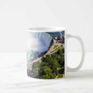 Taza De Café Cascada Canadá de las caídas de la herradura de