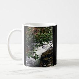 Taza De Café Cascada del pequeño Snowbird