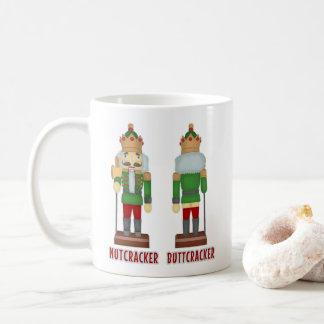 Taza De Café Cascanueces divertido Buttcracker del navidad