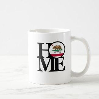 Taza de café CASERA de Aptos California