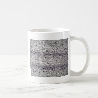 Taza De Café Células de una raíz debajo del microscopio