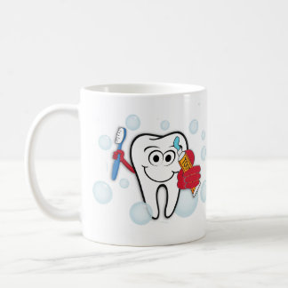 Taza De Café Cepille sus dientes