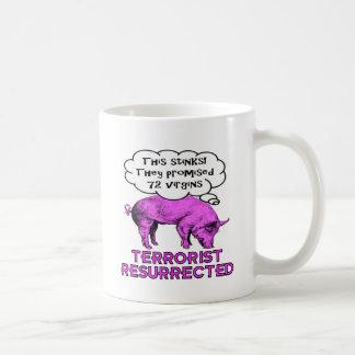 Taza De Café Cerdo resucitado terrorista