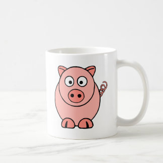 Taza De Café Cerdo rosado